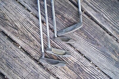 4 Playable Vintage Ping Putters Echo 2, Kushin, H Blade Lefty L Blade