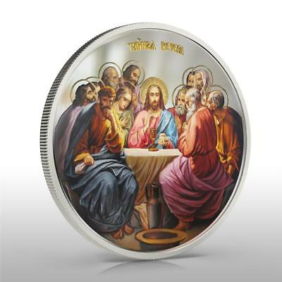 Niue 2012 $2 Icon The Last Supper 1oz Silver Coin LIMITED!!!