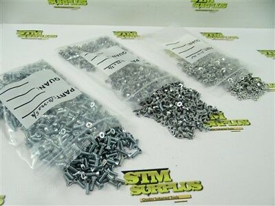"""New Big Lot Of Stove Screws + Nuts #10-32 3/8"""" To 5/8"""" Lengths"""
