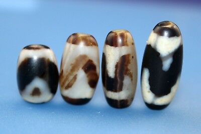 """19*10 mm Antique Dzi Agate old """" Tiger tooth """" Bead from Tibet **Free shipping**"""