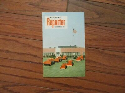 1959 ALLIS-CHALMERS REPORTER MAGAZINE...8pg...VERY GOOD