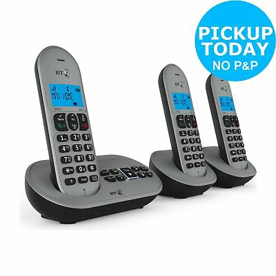 BT 3580 Cordless Telephone with Answer Machine - Triple