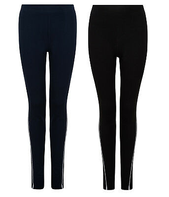 Girls Pe Leggings Ex Bhs Sports Gym Dance Trousers With Stretch 4-14 Years New