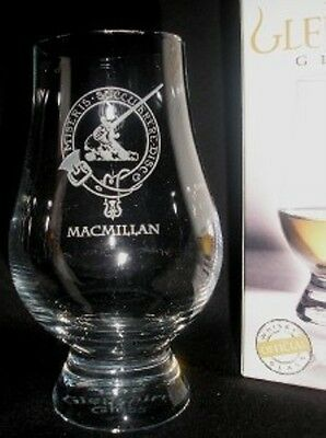 Clan Macmillan Scotch Malt Whisky Glencairn Tasting Glass