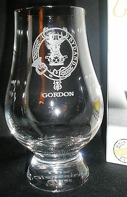 Clan Gordon Scotch Malt Whisky Glencairn Tasting Glass