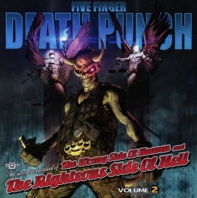 Five Finger Death Punch - The Wrong Side of Heaven & the Righteous Side Of Hell,