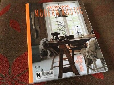 Country Living Modern Rustic Issue 5 Rare Collectable