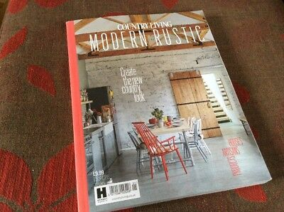 Country Living Modern Rustic Issue 6 Rare Collectable