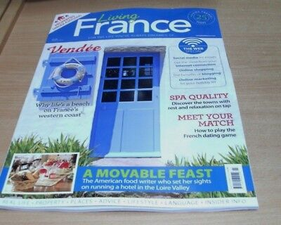 Living France magazine MAR 2018 Web Special, Dating Guide, Spa Towns, Vendee &