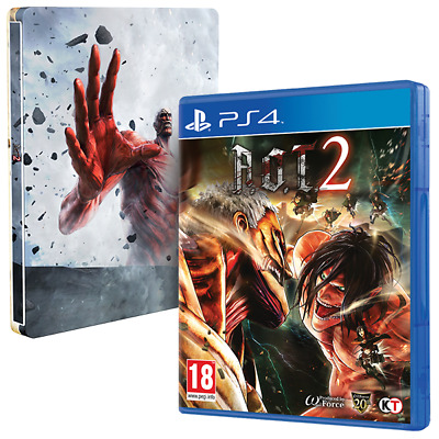 Attack On Titan 2 (A.O.T) Wings Of Freedom PS4 Game + Steelbook - Pre Order