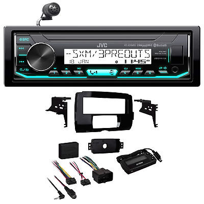 2014-2018 Harley Davidson JVC Digital Media Receiver w/Bluetooth+Install Kit