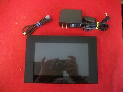 """Sony DPF-D70 7"""" Digital Picture Frame w/ Power Supply Tested"""