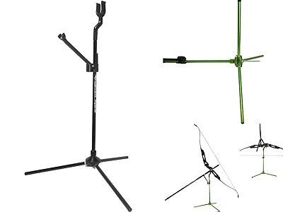Avalon Archery Classic Hybrid Light Weight Collapsible Recurve Bow Stand BLACK