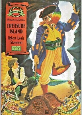 Pendulum Illustrated Stories #2  Treasure Island 1991 Nice!!