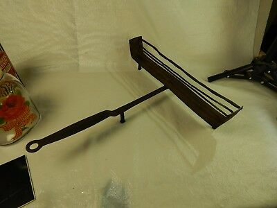c1800's Wrought Iron Toaster HAND FORGED 1830'S