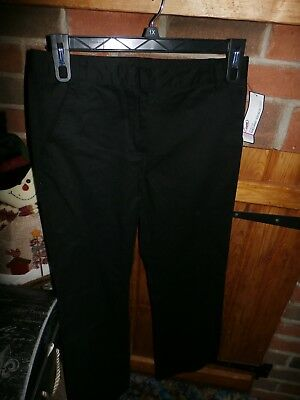Girls School Uniform Pants by George Size 12     NEW WITH TAGS