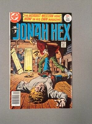 Dc comics Jonah hex 1 1977 VF+ 8.5 first issue