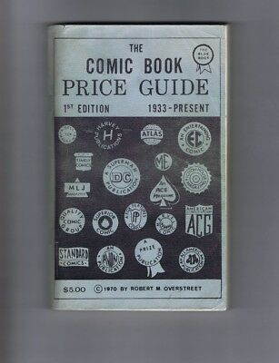 Overstreet Comic Book Price Guide #1 (1970) Blue cover; 2nd printing (c#17477)