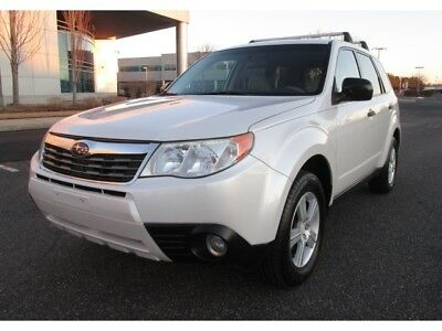 2009 Subaru Forester 2.5 X 2009 Subaru Forester 2.5 X AWD Pearl White Extra Clean Well Maintained Sharp Car