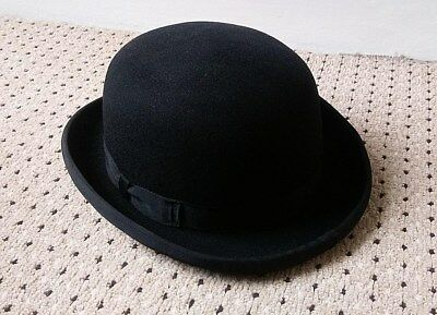 Bowler Hat - Large - Very Good Used Condition - Black