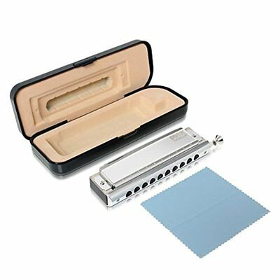Classic Style Harmonica - Chromatic Harmonica with Stainless Steel Cover Plates