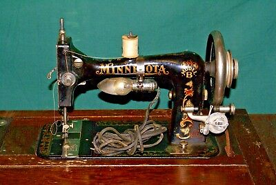 C.1900's Antique Sears & Roebuck Minnesota Model B Sewing Machine