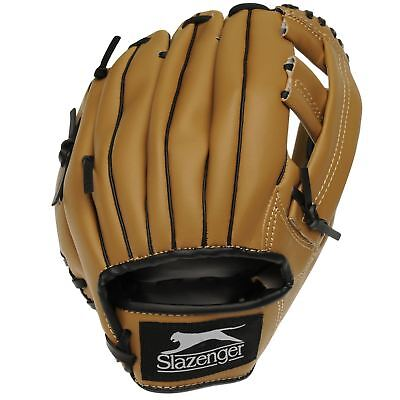 Slazenger Kids Fielding Mitt Junior Baseball Softball Gloves Accessories