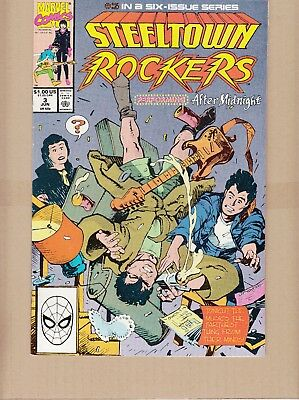 Steeltown Rockers  #3 1990 -Small Town Teens Form A Rock Band- Lee/leialopha..fn