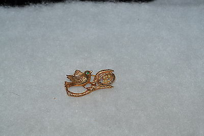 Sarah Coventry - Sign Of Spring Brooch  Pin - 6038 - Autumn 1974 - Vintage