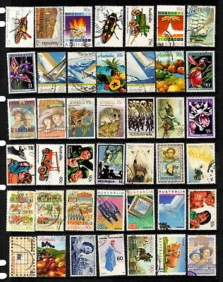 Australia - 1966/91 146 different Higher Value commemoratives, pictorials (29F)