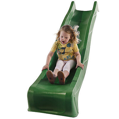 2.28m GREEN Playground Slide + Water Feature Cubby House Play Equipment Slide