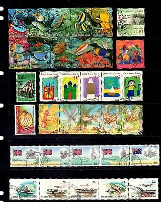 Cocos (Keeling) Islands - 129 different stamps, nice collection (26Z)