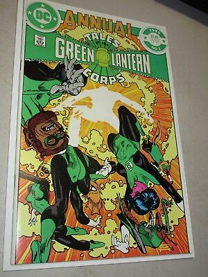 Tales Of The Green Lantern Corps Annual #1 (1985, DC Comics) Gil Kane Art Cover