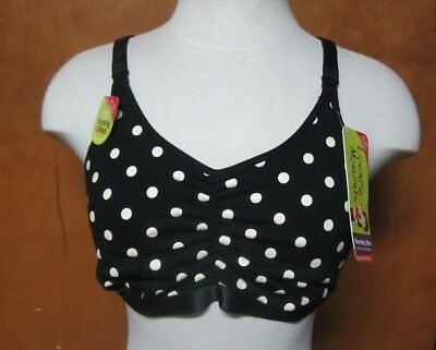 LOVING MOMENTS by Leading Lady Nursing Maternity Bra - 2XL - 2X - WireFree - NWT