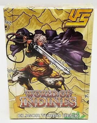 ELIGOR TURBO DECK World of Indines UFS Universal Fighting System 60-Card NEW