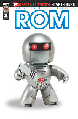 ROM #2, PHOTO 1:10 VARIANT, New, First print, IDW (2016)