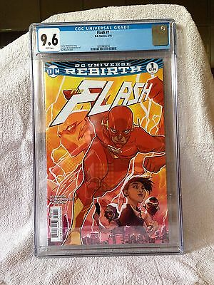 FLASH #1, CGC 9.6, New, DC Rebirth (2016)