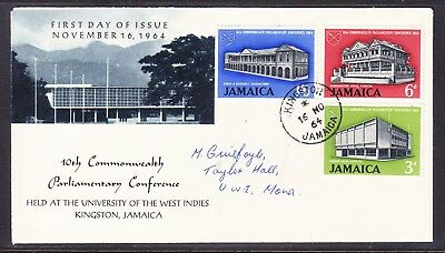 Jamaica 1964 Parliamentary Conference First Day Cover  Addressed