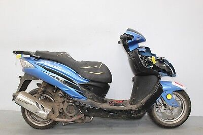 2016 Lexmoto Fms 125 Damaged Spares Or Repair ***no Reserve*** (14192)