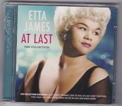 Etta James - At Last, The Collection   2CD   (Music Club 2015) NEW / SEALED
