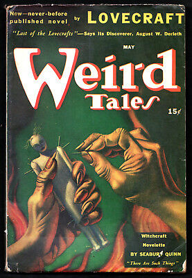 "WEIRD TALES:U.S.Ed.May 1941-H.P.Lovecraft, ""The Case of Charles Dexter Ward"""
