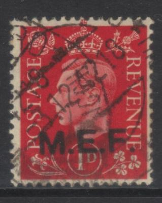 MIDDLE EAST FORCES 1942 OPTD SGM6a USED CAT £18