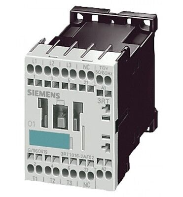 Siemens Sirius 3RT1016 2BB42 3 Pole Volt Power Switch Contactor Coil 24V DC