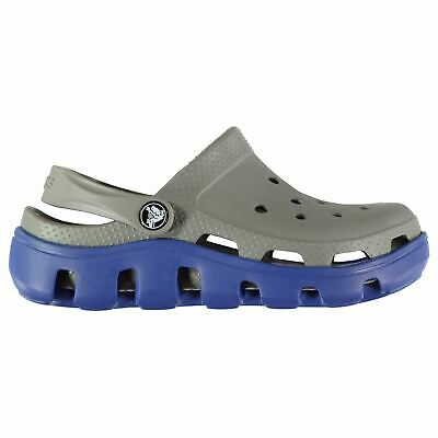 Crocs Kids Boys Duet Sport Child Sandals Cloggs Adjustable Heel Strap