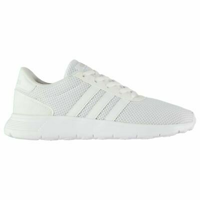 adidas Kids Boys Lite Racer Junior Trainers Runners Lace Up Breathable