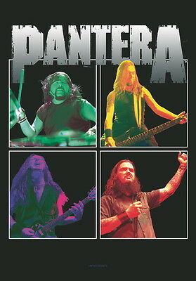 "Pantera Flagge / Fahne ""collage""  Poster Flag"
