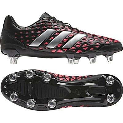 adidas Men's Kakari Elite SG Low Cut Rugby Boots Soft Ground Changeable Studs