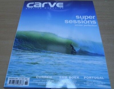 Carve surfing magazine #185 Mar 2017 Winter sessions + Mason Ho Sam Boex & more