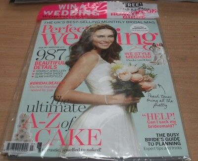 Perfect Wedding magazine #144 2018 A-Z of cakes + 52 page honeymoon guide & more