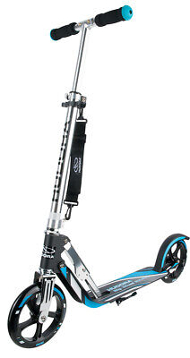 Hudora Big Wheel 205 RX-Pro Scooter Roller schwarz / blau 14709/01